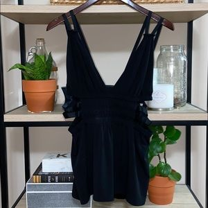 NWT, Express Sexy Plunging Deep V-Neck Strap Tank